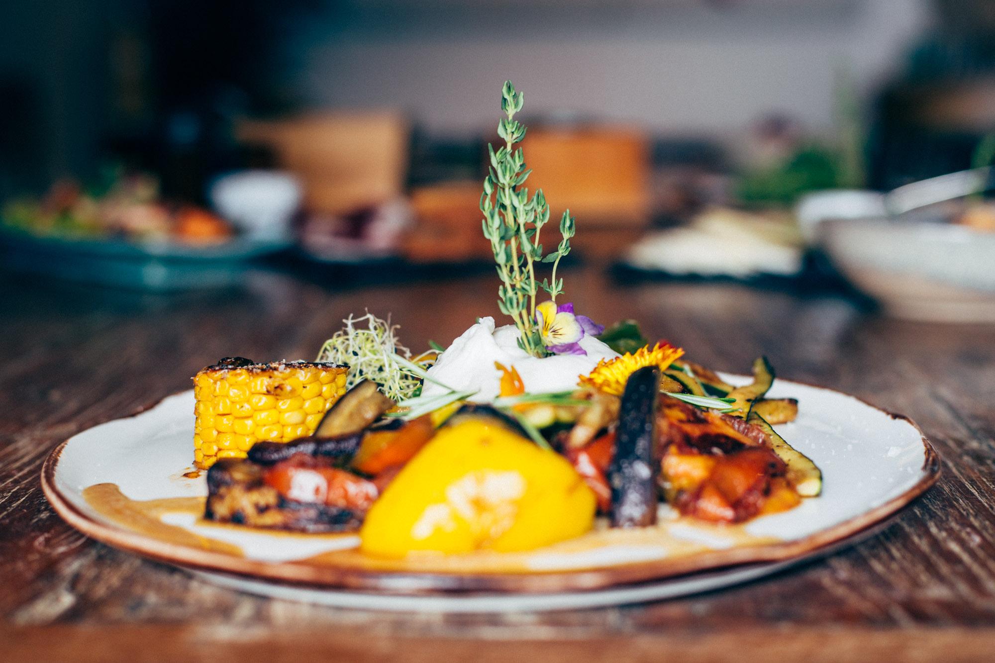 Comida exquisita en Hotel Misiana Tarifa